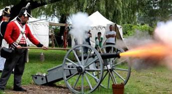 The War of 1812 Reinactment at Wasaga Beach Park